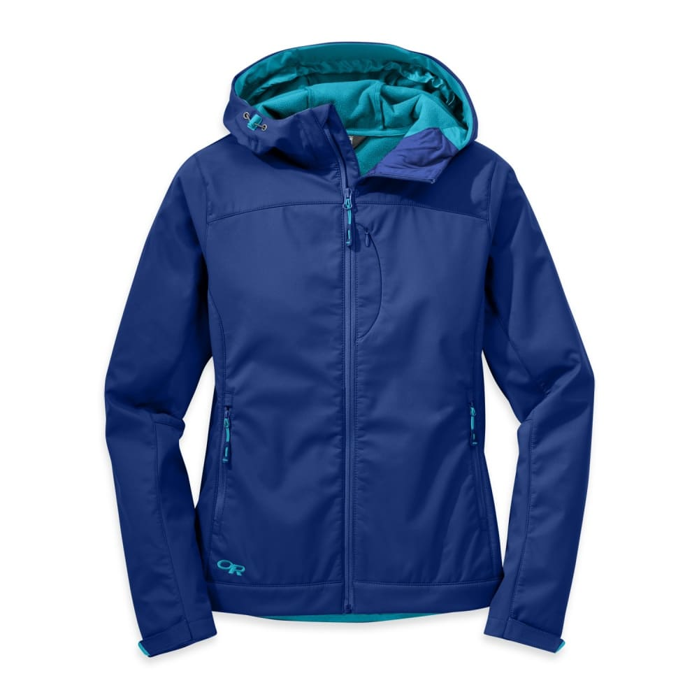 OUTDOOR RESEARCH Women's Transfer Hooded Jacket - BALTIC