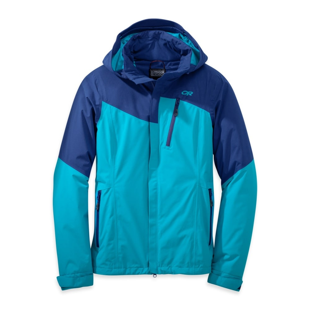 OUTDOOR RESEARCH Women's Offchute Jacket - BALTIC/TYPHOON