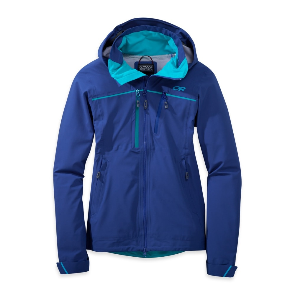 OUTDOOR RESEARCH Women's Skyward Jacket - BALTIC/TYPHOON