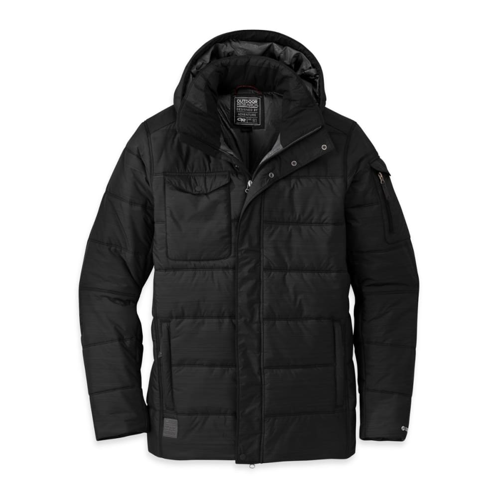 OUTDOOR RESEARCH Men's Ketchum Parka - BLACK
