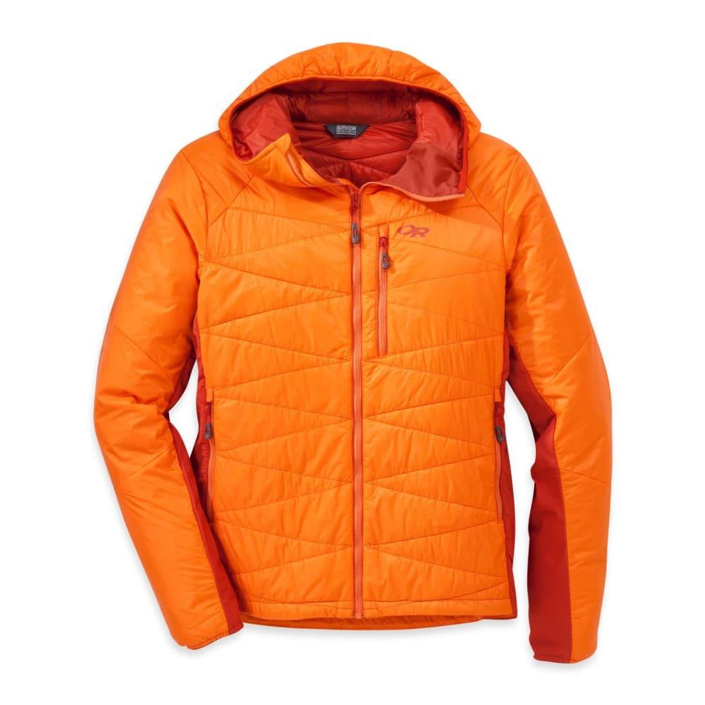 OUTDOOR RESEARCH Men's Cathode Hooded Jacket - BENGAL/DIABLO