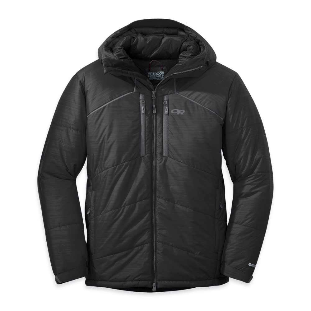 OUTDOOR RESEARCH Men's Perch Belay Parka - BLACK