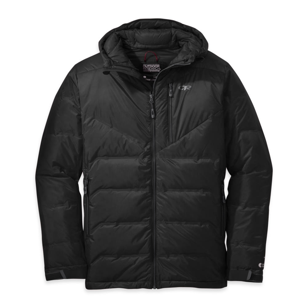 OUTDOOR RESEARCH Men's Floodlight Down Jacket - 0001-BLACK
