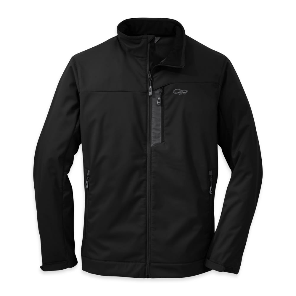 OUTDOOR RESEARCH Men's Transfer Jacket - BLACK