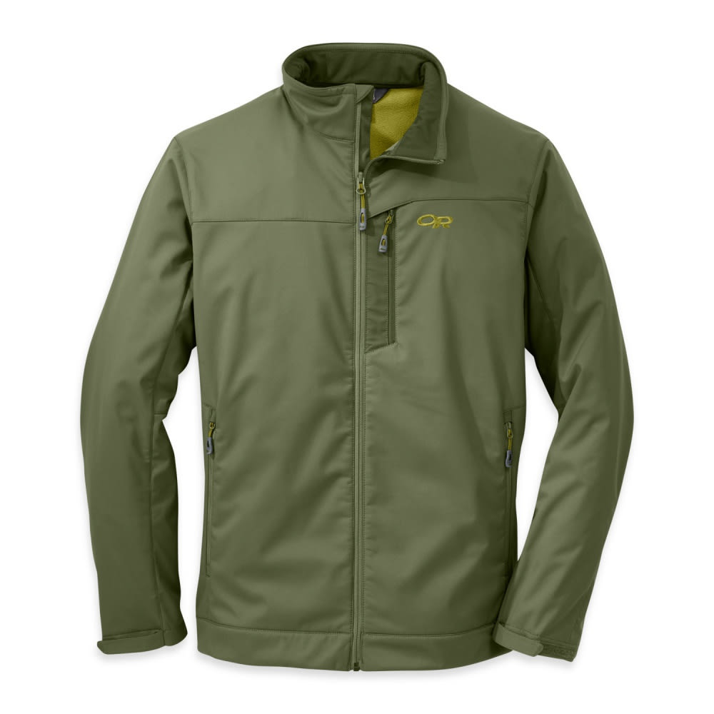 OUTDOOR RESEARCH Men's Transfer Jacket - KALE