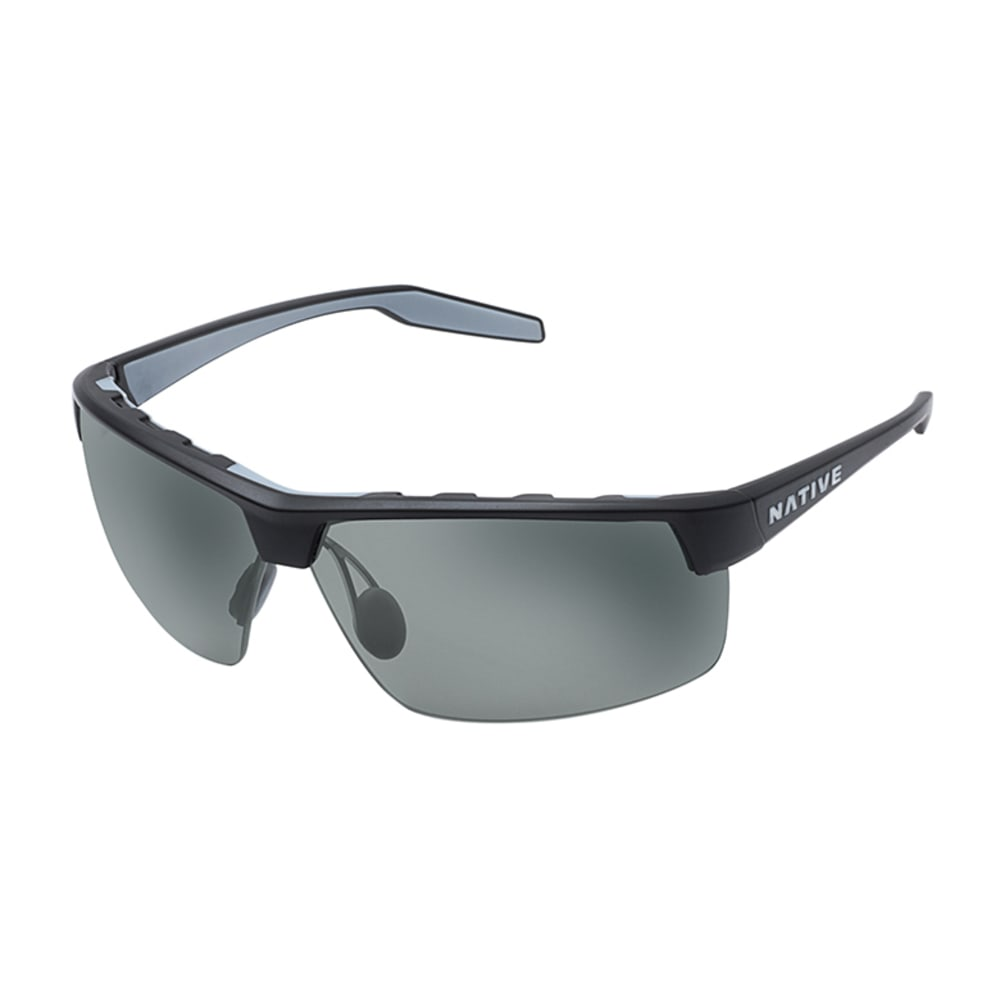 NATIVE EYEWEAR Hardtop XP Sunglasses, Charcoal Grey - CHARCOAL/GREY