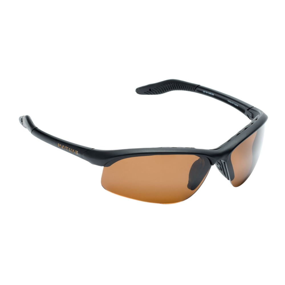 NATIVE EYEWEAR Hardtop XP Sunglasses, Asphalt/Brown - ASPHALT/BROWN