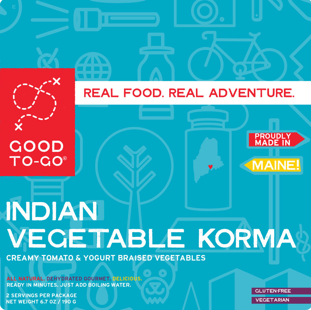 GOOD TO GO Indian Vegetable Korma - NO COLOR