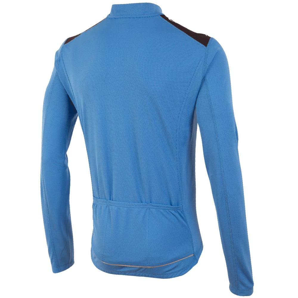 PEARL IZUMI Men's Quest Long-Sleeve Jersey - LIGHT BLUE