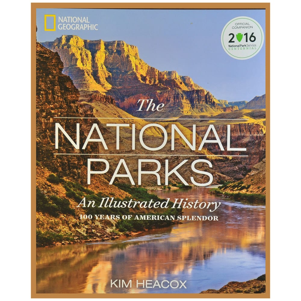 National Geographic The National Parks Illustrated 100