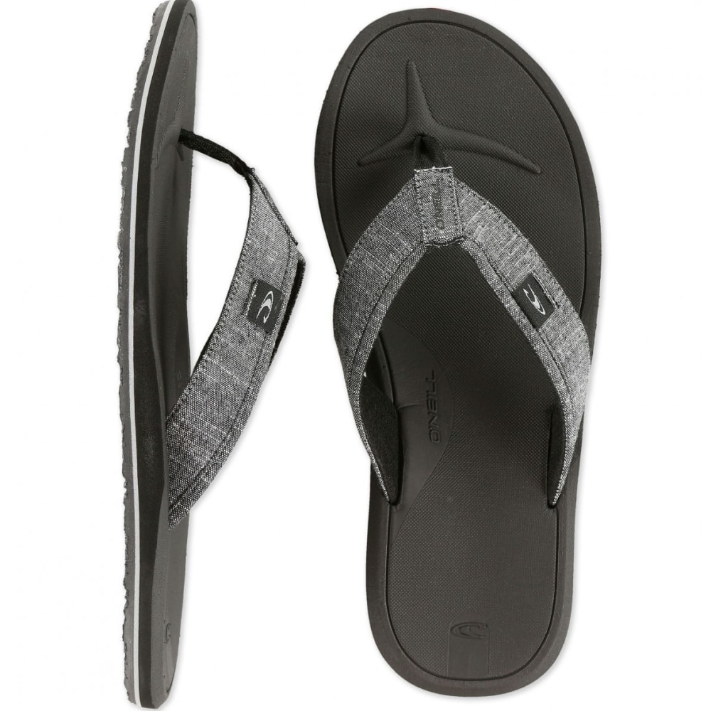 O'NEILL Men's Nacho Libre Sandals - DARK CHARCOAL