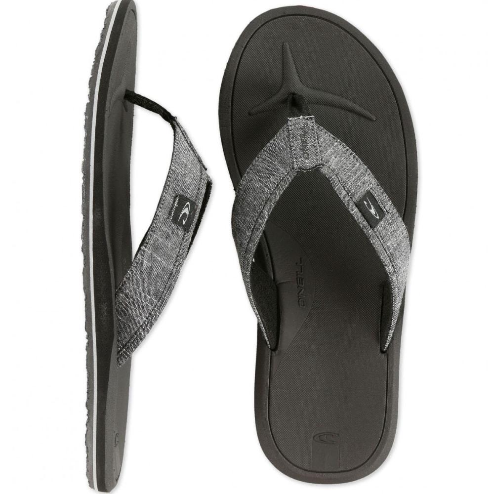 O'NEILL Men's Nacho Libre Sandals - DARK CHARCOAL