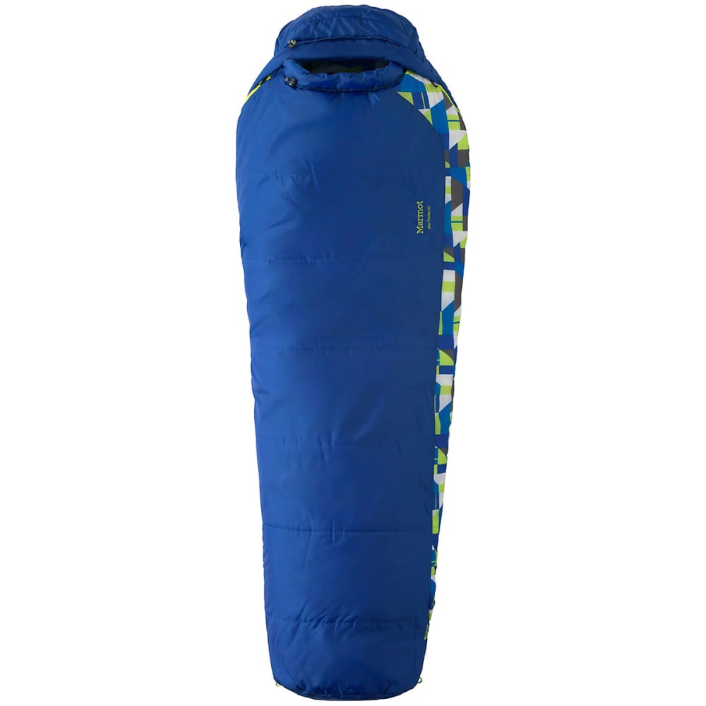 MARMOT Kids' Trestles 30 Sleeping Bag - DARK AZURE