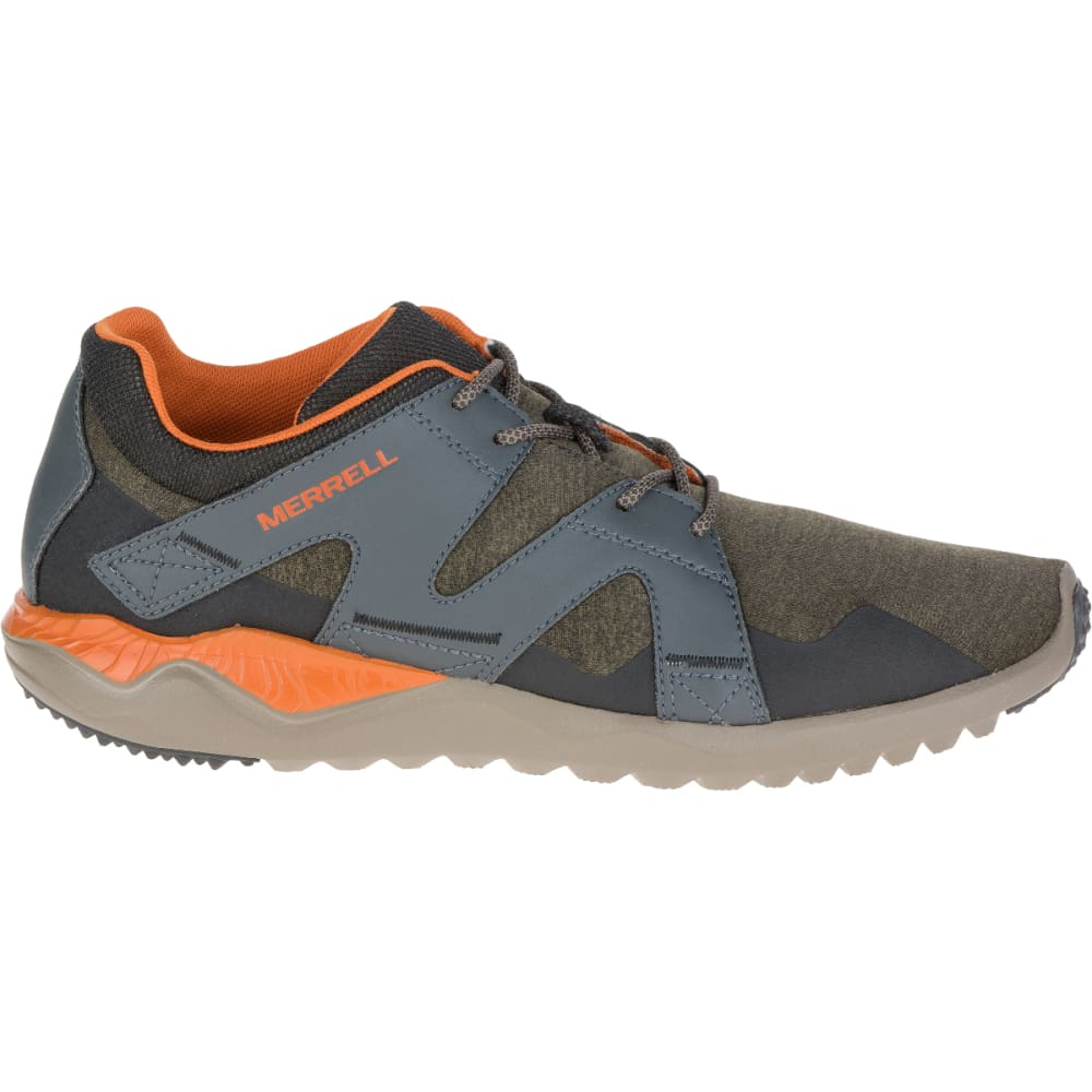 MERRELL Men's 1SIX8 Lace, Dusty Olive - DUSTY OLIVE