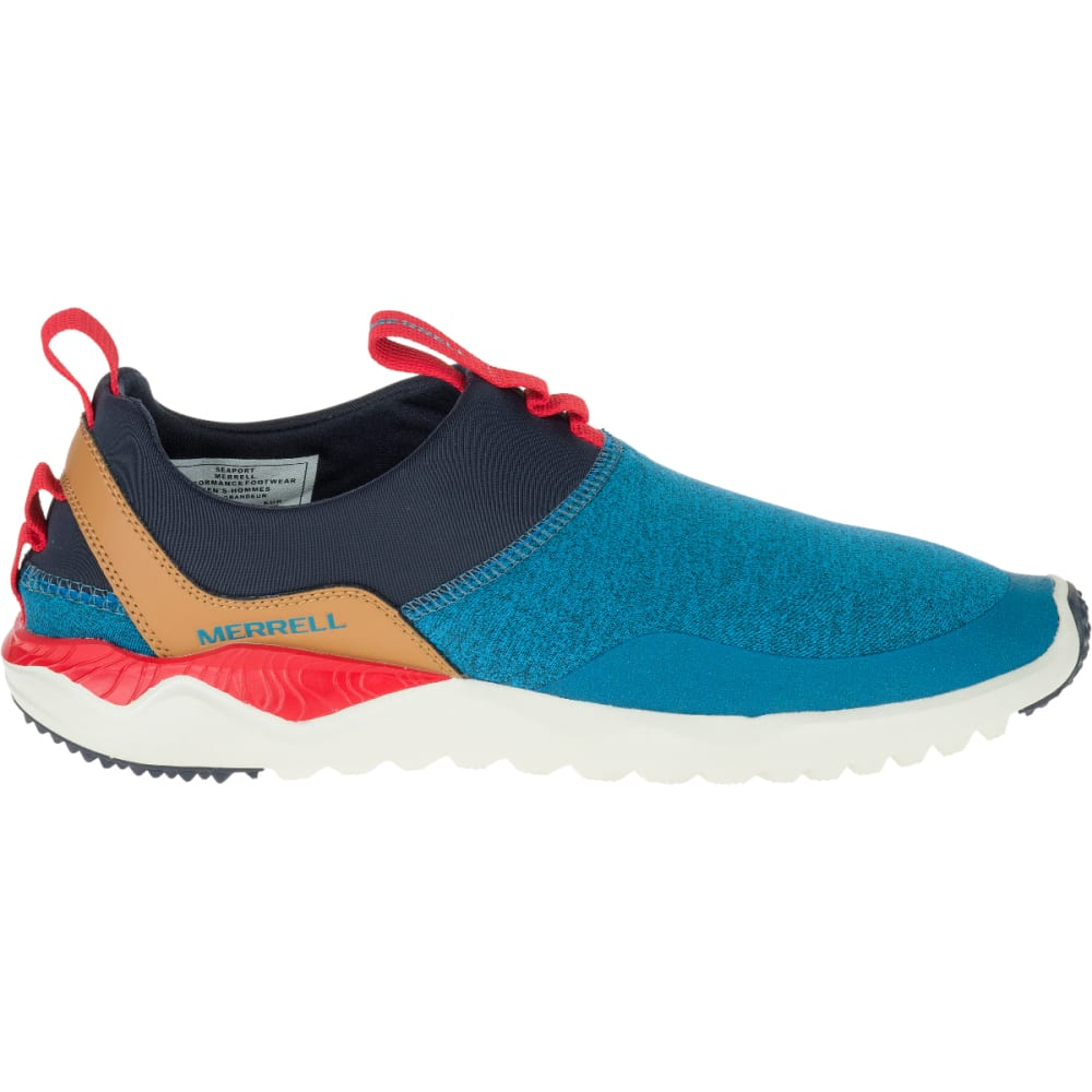 MERRELL Men's 1SIX8 Moc Shoes, Seaport - SEAPORT
