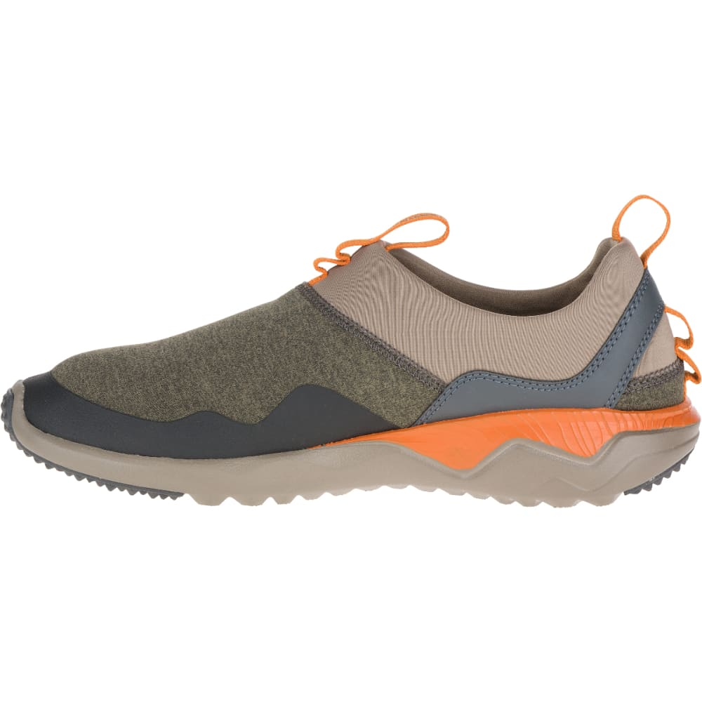 MERRELL Men's 1SIX8 Moc Shoes, Dusty Olive - DUSTY OLIVE