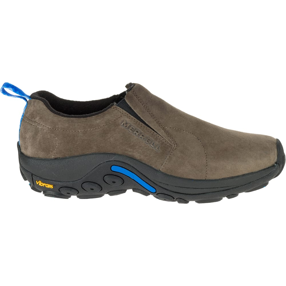 MERRELL Men's Jungle Moc Arctic Grip Shoes, Gunsmoke - GUNSMOKE