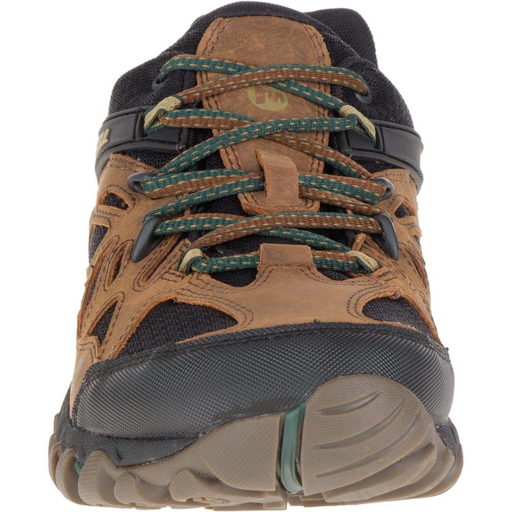 MERRELL Men's All Out Blaze Ventilator Waterproof Hiking Shoe, Merrell Tan - MERRELL TAN