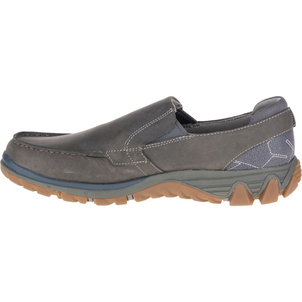 MERRELL Men's All Out Blazer Moc Shoe, Pewter - PEWTER