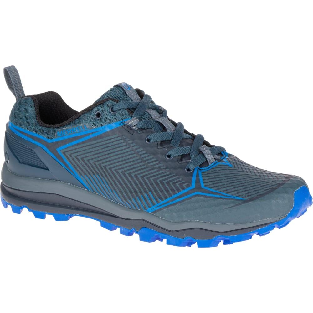 MERRELL Men's All Out Crush Shield Waterproof Running Shoe, Dark Slate