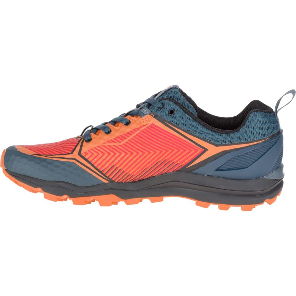 MERRELL Men's All Out Crush Shield Waterproof Running Shoe, Merrell Orange - MERRELL ORANGE