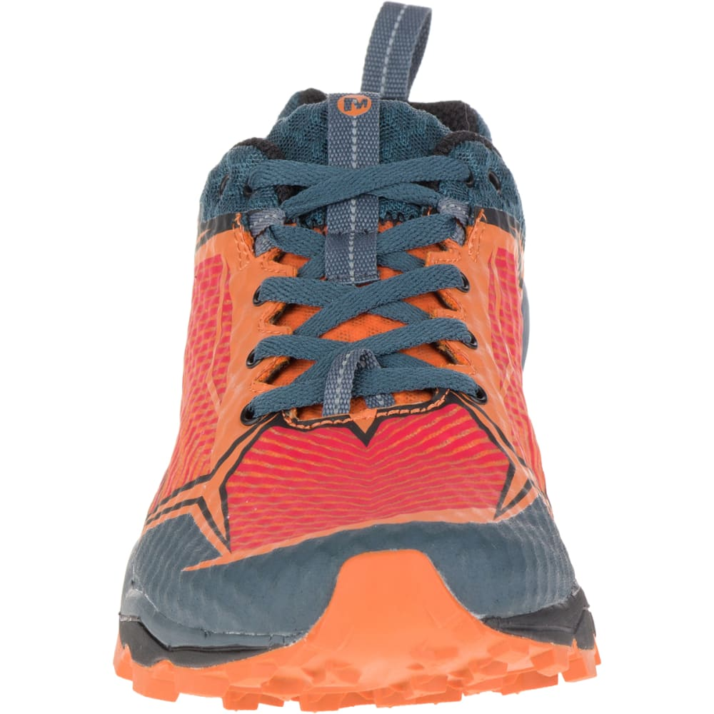 MERRELL Men's All Out Crush Shield Waterproof Running Shoe, Merrell Orange - MERRELL ORANGE