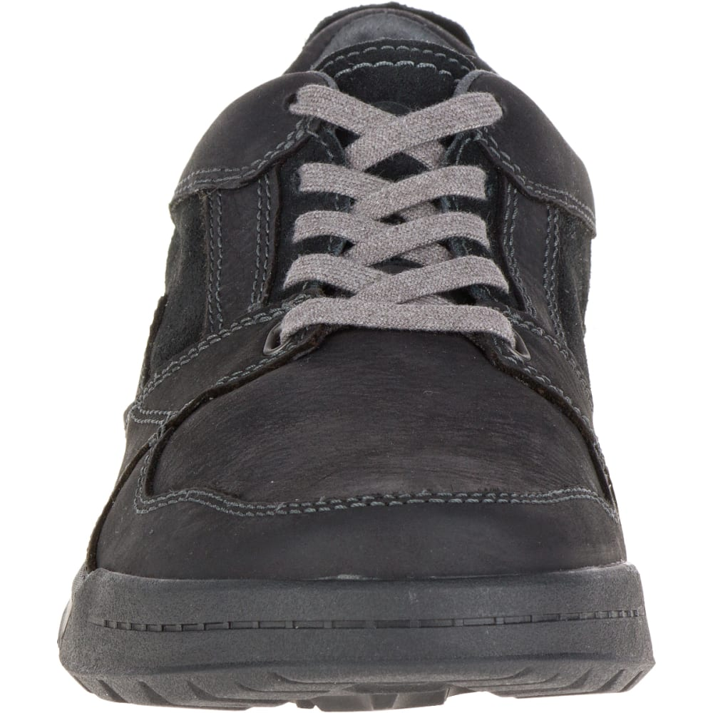 MERRELL Men's Berner Lace Up Sneaker, Black - BLACK