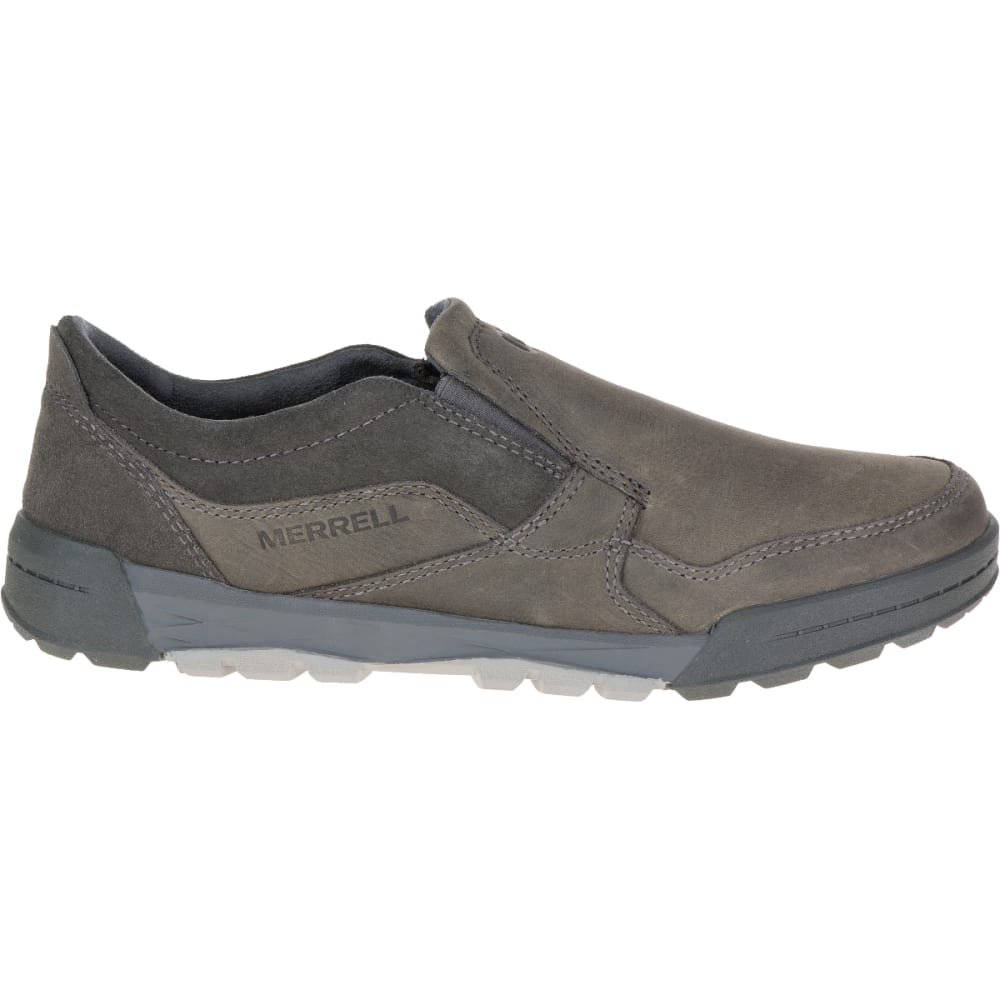 MERRELL Men's Berner Moc, Castle Rock - GRANITE