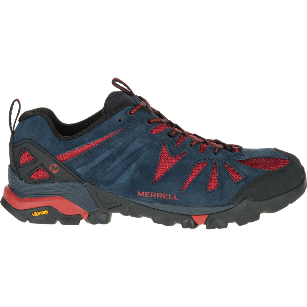 MERRELL Men's Capra Hiking Shoes, Navy - NAVY