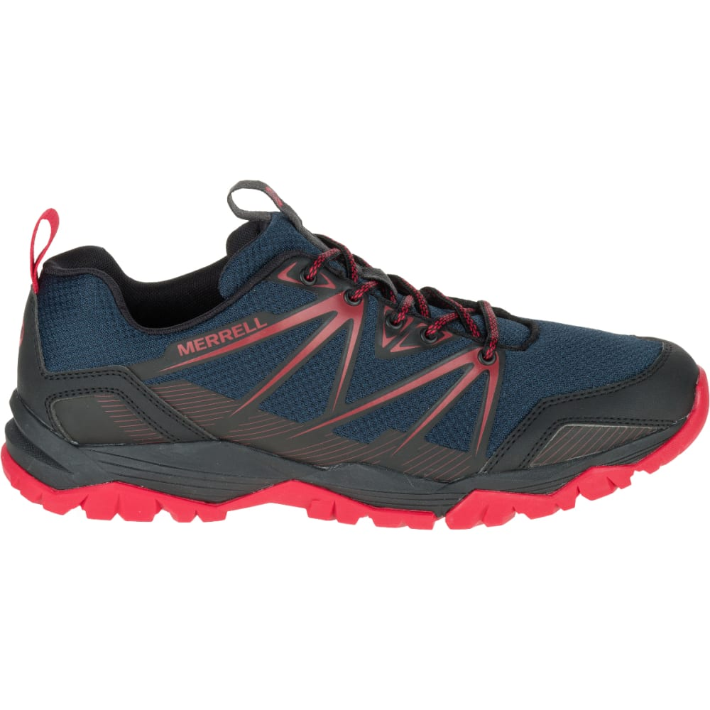 MERRELL Men's Capra Rise Hiking Shoes, Navy - NAVY