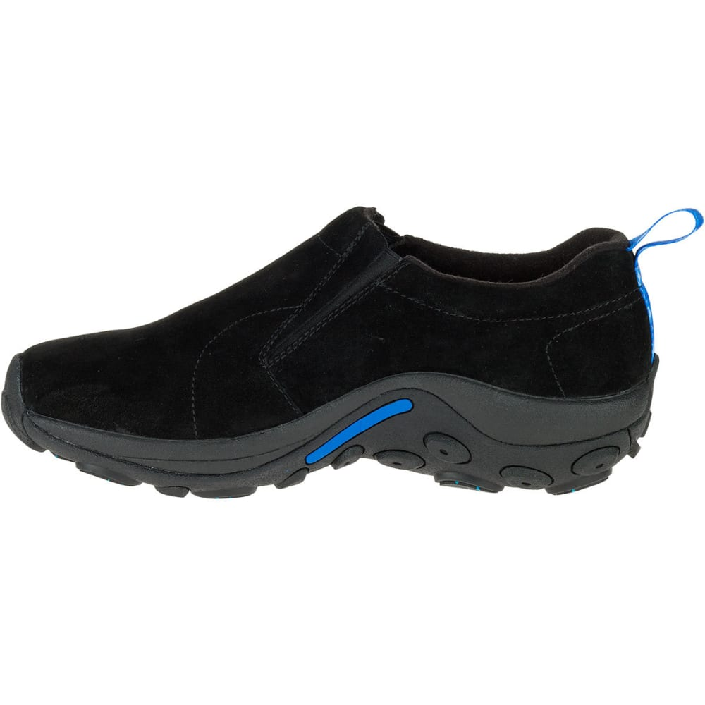 MERRELL Men's Jungle Moc Ice+ Waterproof Casual Shoes, Black - BLACK
