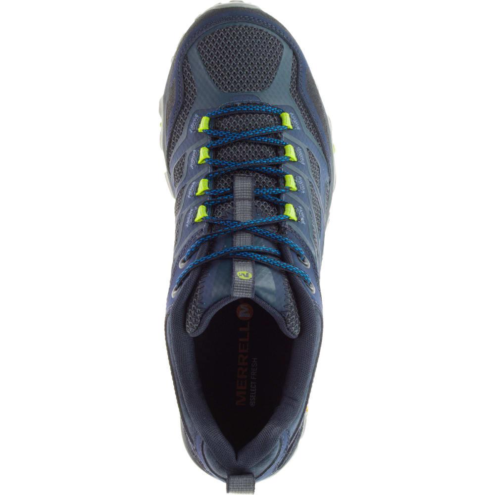 MERRELL Men's Moab FST Sneaker, Navy - NAVY