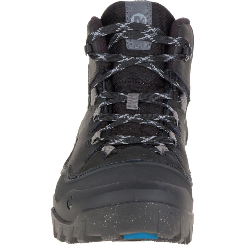 4cba5140104 MERRELL Men's Overlook 6 Ice+ Waterproof Boots, Black