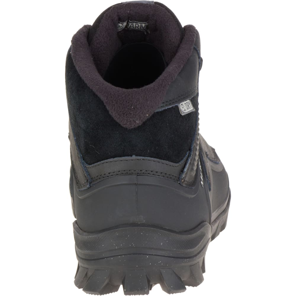 MERRELL Men's Overlook 6 Ice+ Waterproof Boots, Black - BLACK
