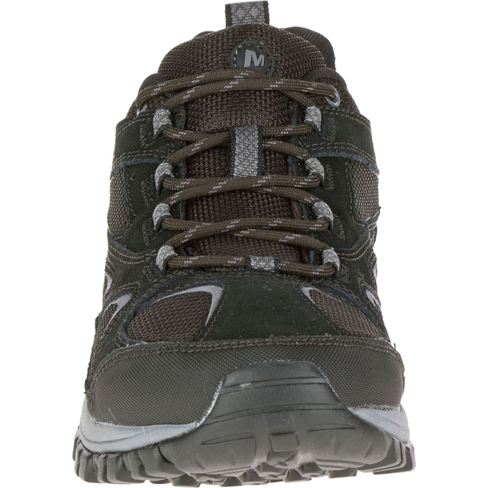 MERRELL Men's Phoenix Bluff Hiking Shoe, Black, Wide - BLACK