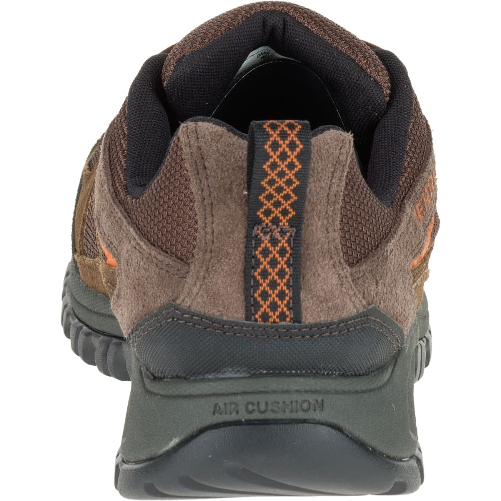 MERRELL Men's Phoenix Bluff Hiking Shoe, Dark Brown - DARK BROWN