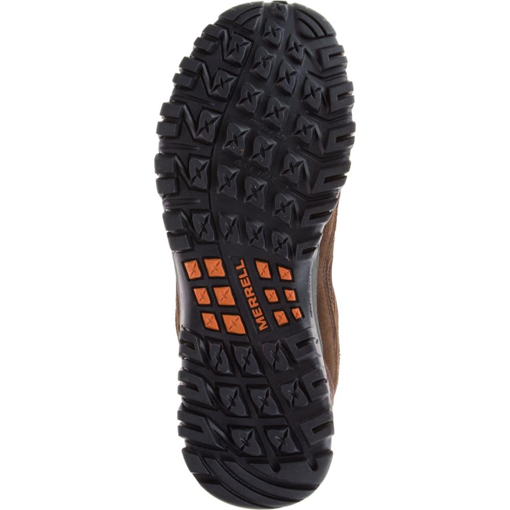 MERRELL Men's Phoenix Bluff Hiking Shoe, Dark Brown, Wide - DARK BROWN
