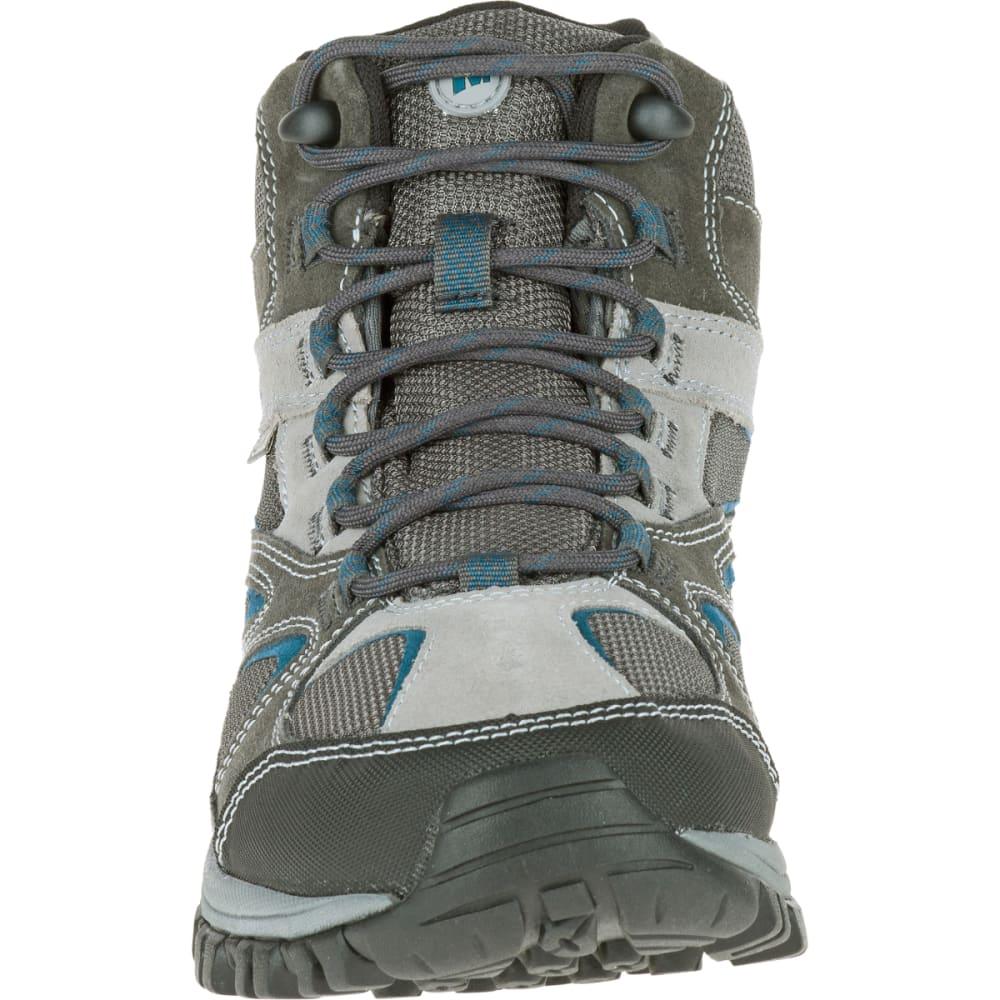 f9ec681f7d8 MERRELL Men's Phoenix Bluff Mid Waterproof Hiking Boot, Grey, Wide ...