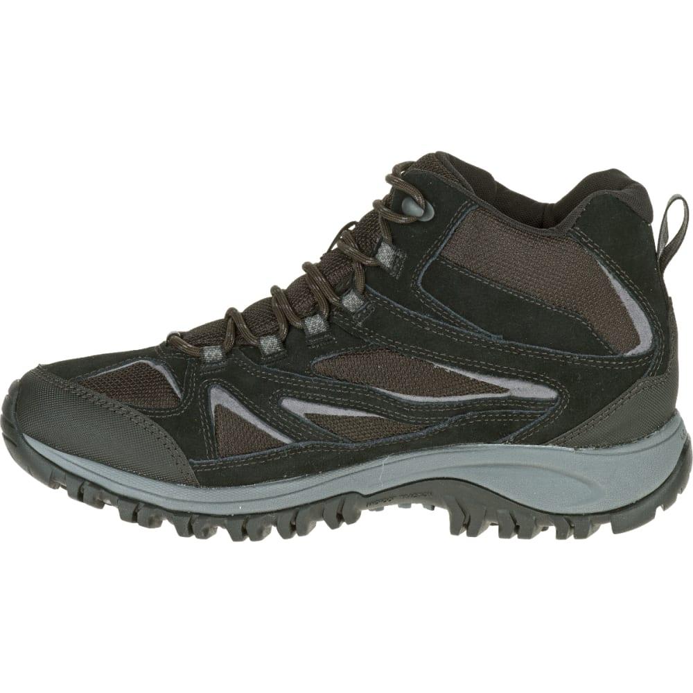 8c2cc0c5b28 MERRELL Men's Phoenix Bluff Mid Waterproof Hiking Boot, Black, Wide ...