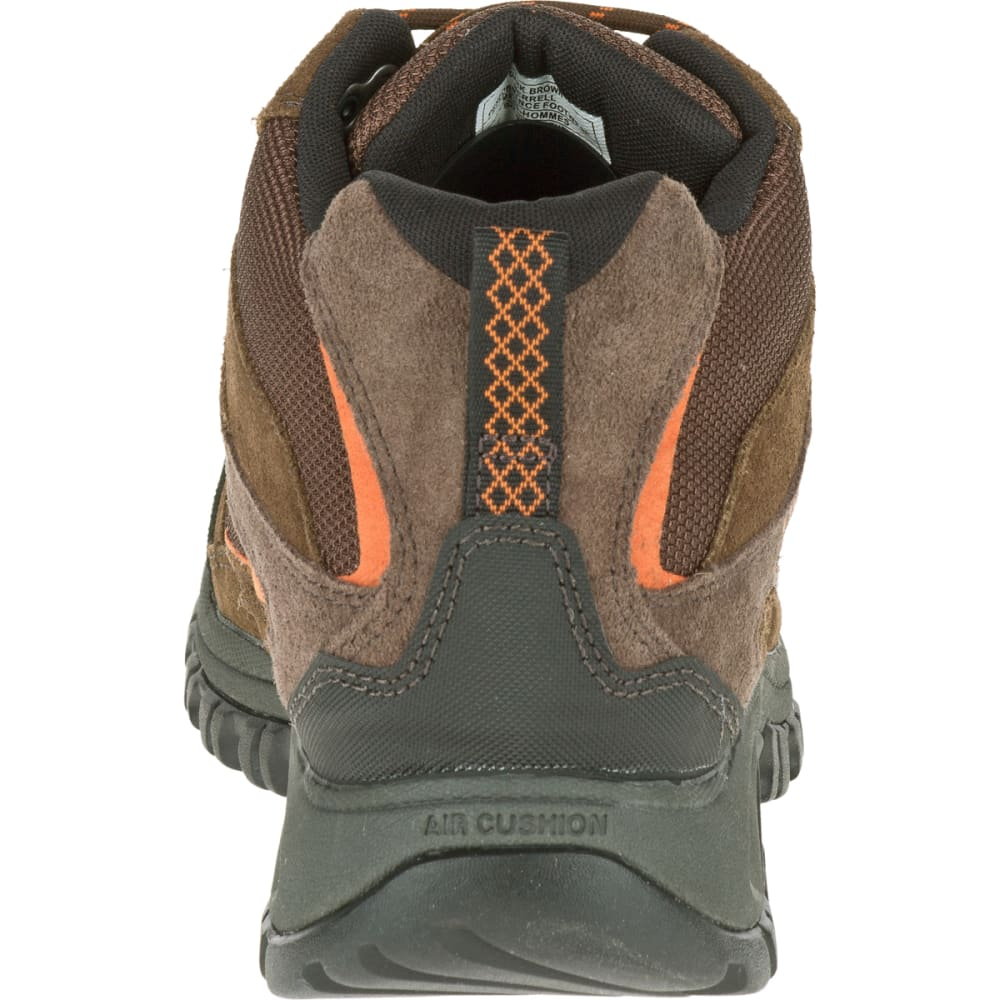 19d90246cc9 MERRELL Men's Phoenix Bluff Mid Waterproof Hiking Boot, Dark Brown ...
