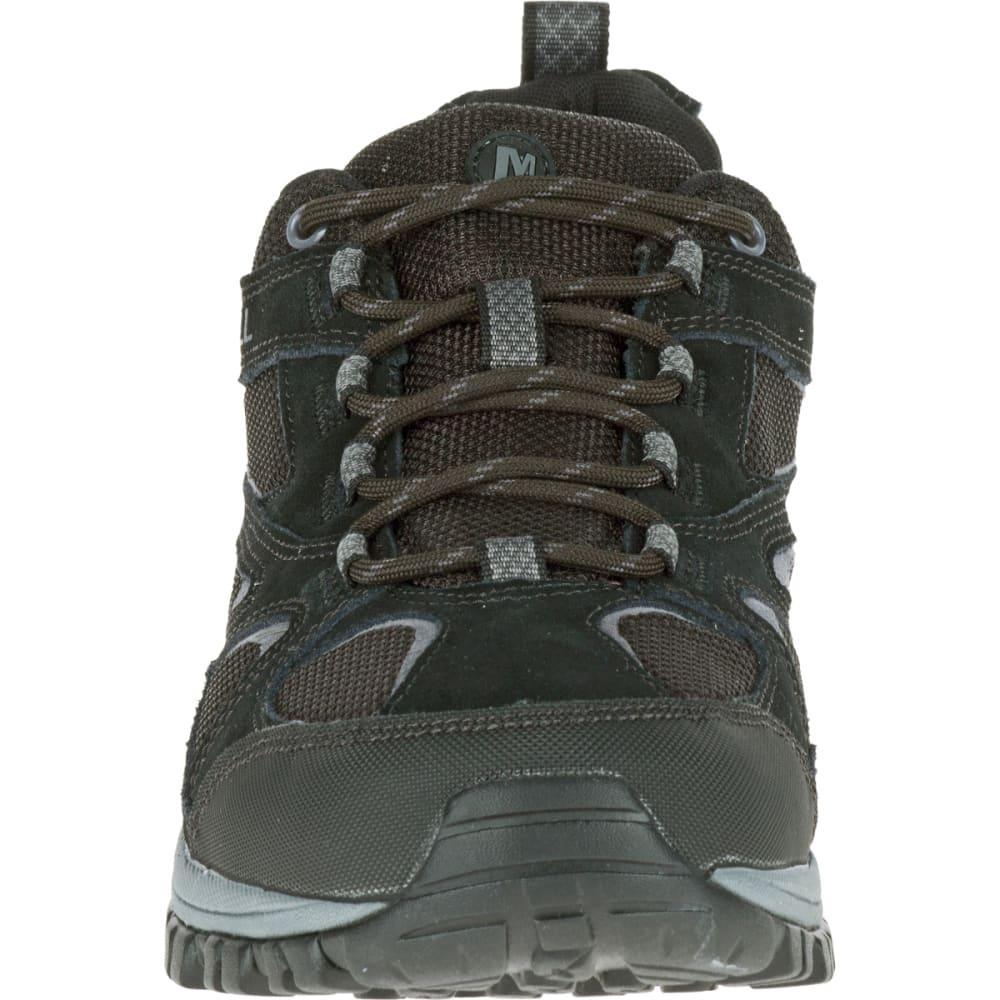 MERRELL Men's Phoenix Bluff Waterproof Hiking Shoe, Black - BLACK