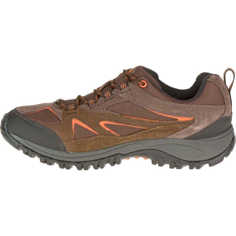 MERRELL Men's Phoenix Bluff Waterproof Hiking Shoe, Dark Brown - DARK BROWN