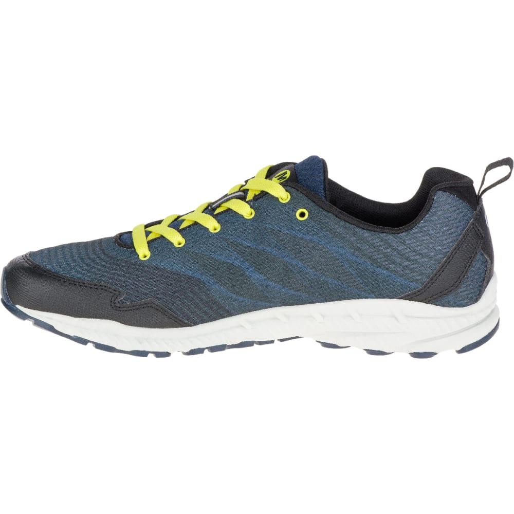 MERRELL Men's Trail Crusher Running Shoe, Green Sheen - GREEN SHEEN
