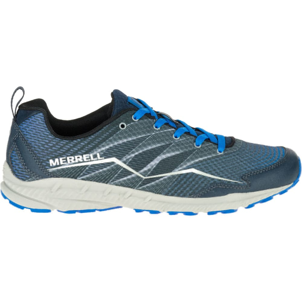 MERRELL Men's Trail Crusher Trail Running Shoes, Dark Slate - DARK SLATE