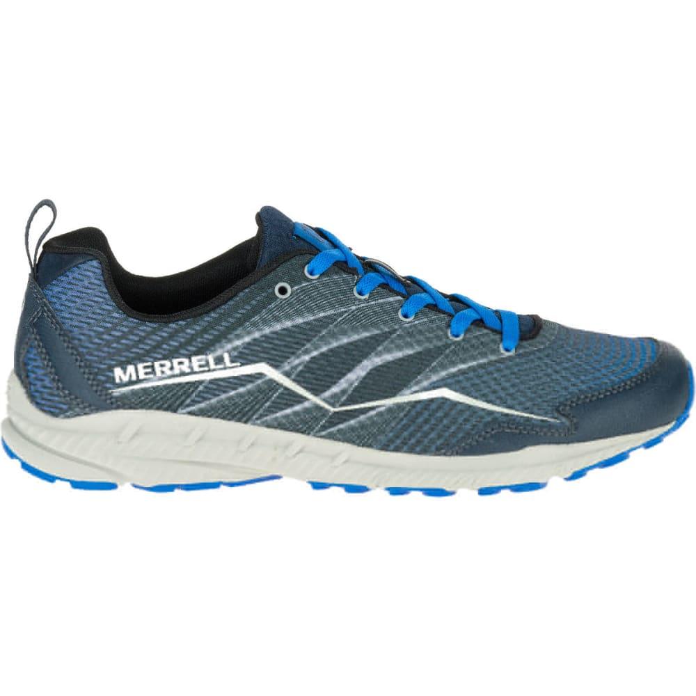 MERRELL Men's Trail Crusher Trail Running Shoes, Dark Slate - DARK SLATE