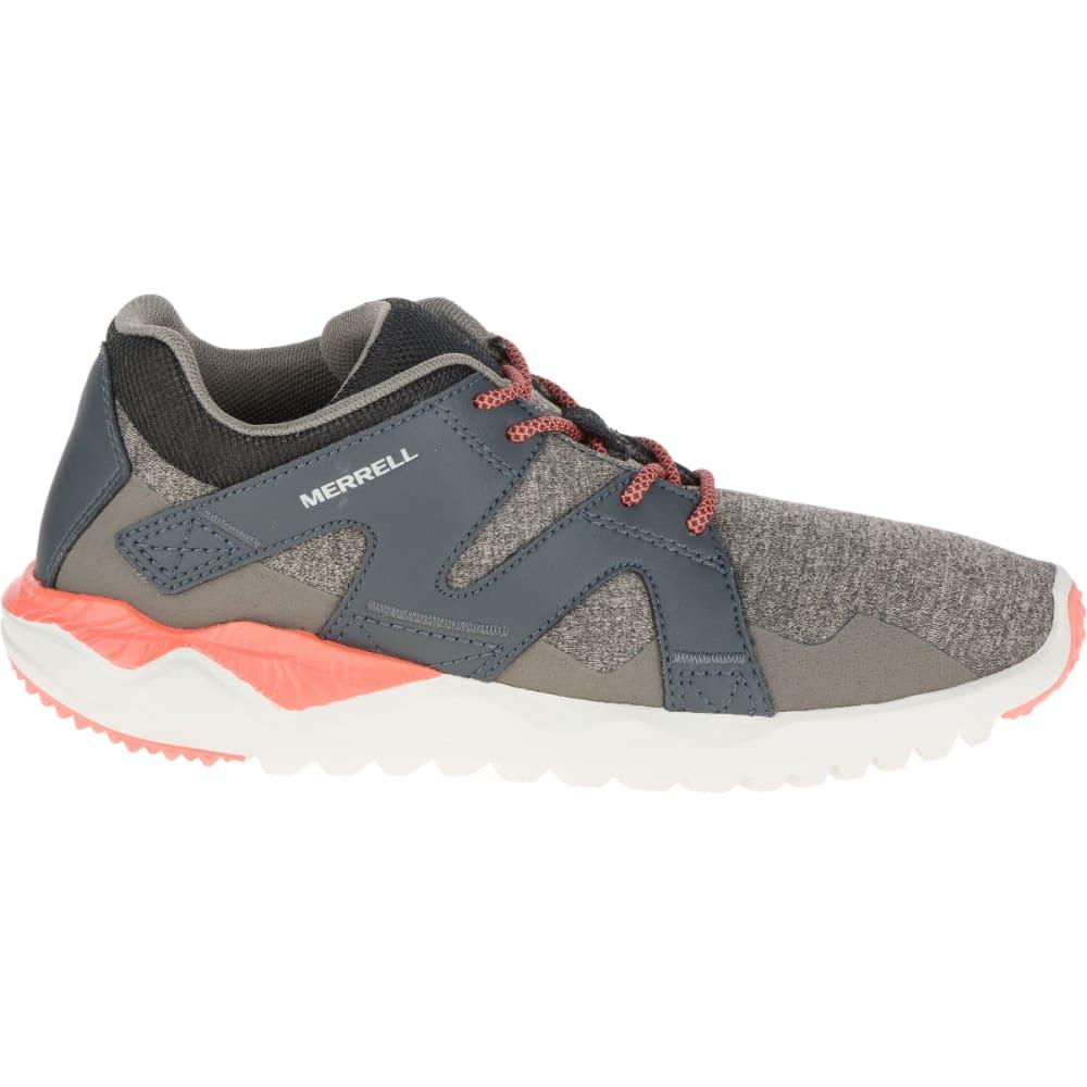 MERRELL Women's 1SIX8 Lace Shoe, Aluminum - ALUMINUM
