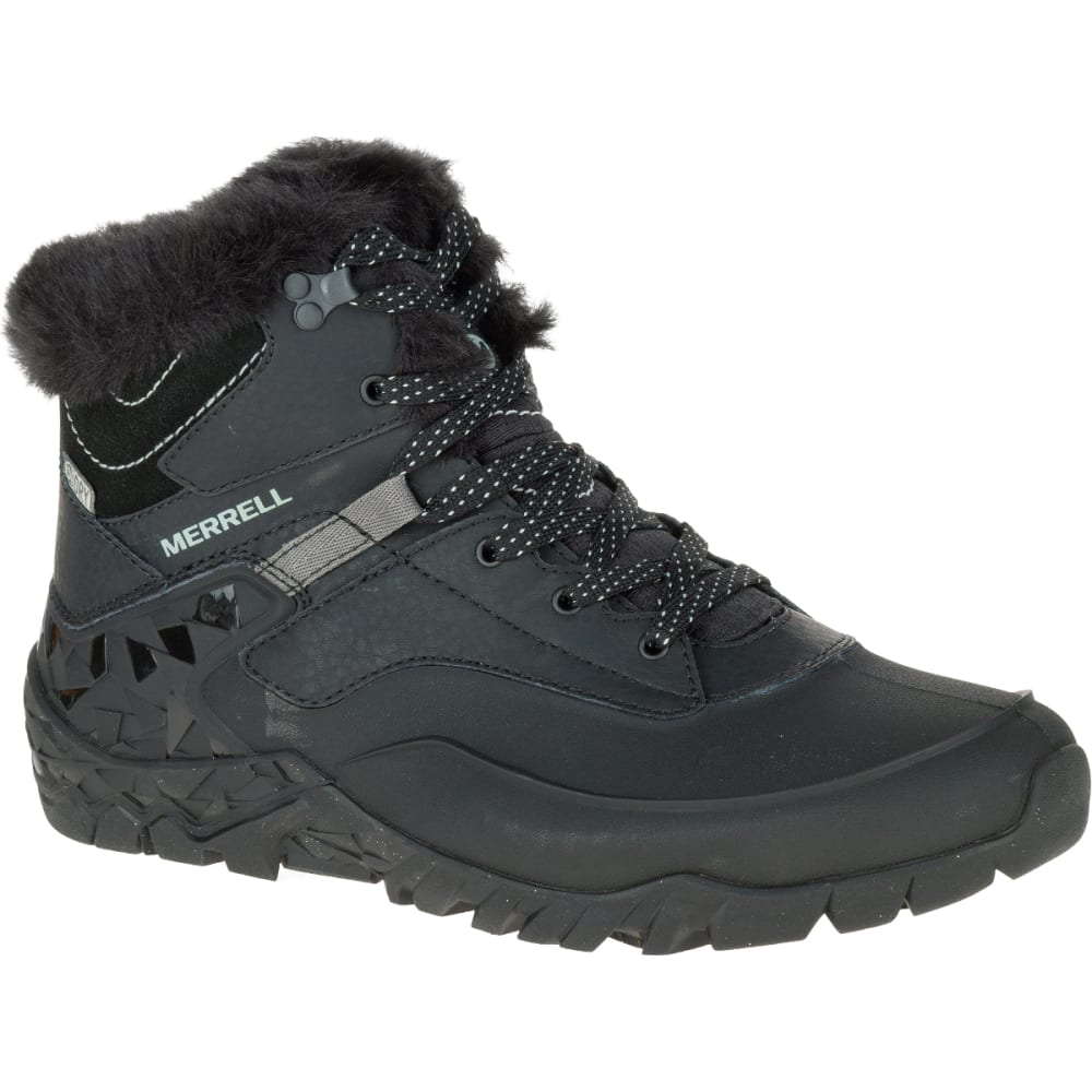 merrell s 6 waterproof boots black