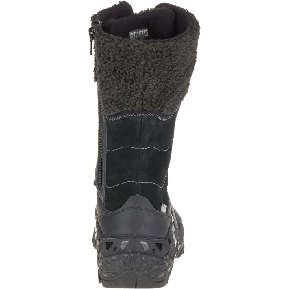 MERRELL Women's Aurora Tall Ice+ Waterproof Boots, Black - BLACK