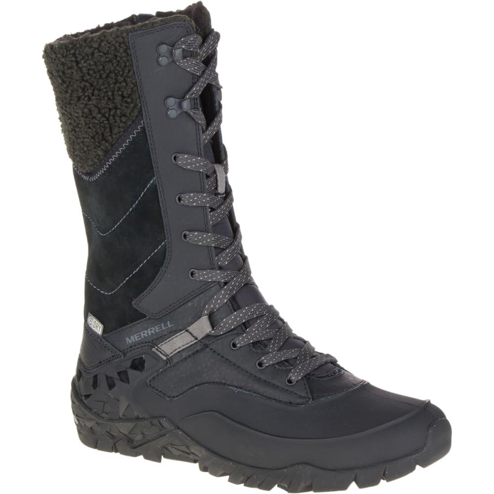 merrell women u0026 39 s aurora tall ice  waterproof boots  black