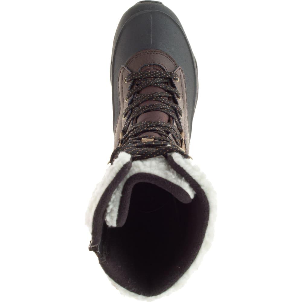 MERRELL Women's Aurora Tall Ice+ Waterproof Boots, Espresso - ESPRESSO